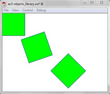 Example AS3 with objects in Library