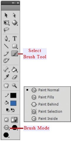 Select Brush tool