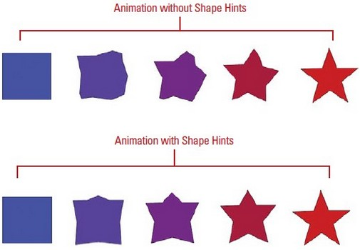 Shape Hint difference